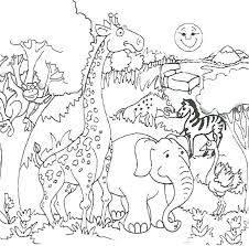 Find cute pages to color that your kid will love. Funny Jungle Coloring Page Free Printable Coloring Pages For Kids