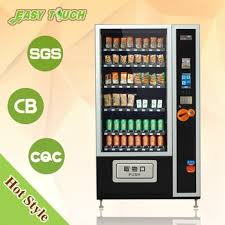 Glass Front Vending Machine Interesting Glass Front Combo Drinksnack Vending Machine Brand New Buy