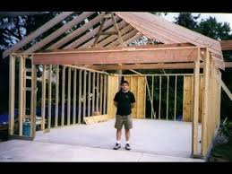 workshop building ideas. building your own 24\u0027x24\u0027 garage and save money. steps from concrete to workshop ideas