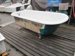 6footclawfoottub painting a clawfoot tub omega salvage throughout dimensions 1100 x 825