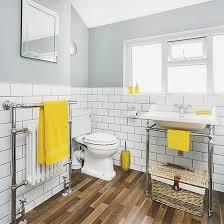 Yellow Bathroom Accents