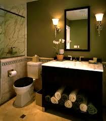 dark green bathroom paint tiles bath mats ceramic wall hand towels