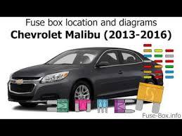 chevrolet malibu 2010 Malibu Fuse Box Diagram Silverado Fuse Box Diagram