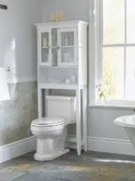 Bathroom Storage Cabinets on Over Toilet Bathroom Storage Cabinet