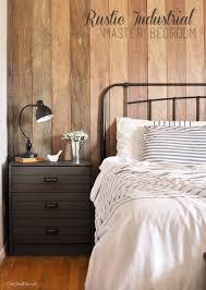 Rustic Master Bedroom Rustic Industrial Master Bedroom Reveal Cherished Bliss