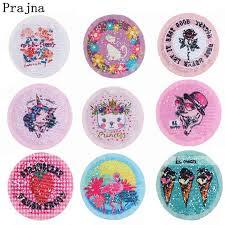 <b>Prajna</b> Heart <b>Unicorn</b> Embroideriy Patch Anime Crown Cat Sew On ...