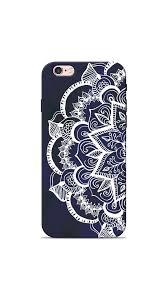 Iphone 6 Plus Cover Designer Mandala Flower Iphone 6 Plus Back Cover