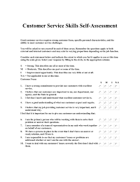 Customer Service Skills Self Assessment M Maciekowich