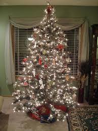 Grey Christmas Tree Christmas Design Interior Grey Christmas Pine Tree Decoration