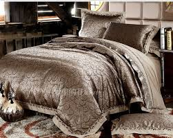luxury jacquard comforter bedding sets gold duvet cover king size bedding set bedclothes bed
