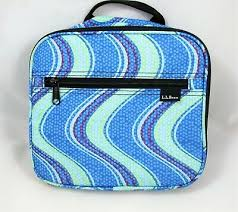 nwot ll bean toiletry travel bag hanging shower caddy blue cosmetic bag small