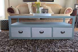 painted coffee table ideasPainted Coffee Tables with Drawers Ideas