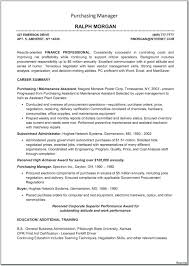 Purchasing Manager Resume Beautiful 22 Operations Management Resume