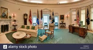 white house oval office. The Oval Office In White House Replica At Lyndon Baines Johnson Library And Museum (LBJ Library) Austin, Texas, USA
