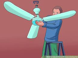 image titled take down or remove a ceiling fan step 8