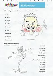 FREE Parts of the body | Rockalingua | Spanish Lessons | Pinterest ...