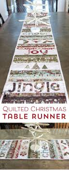 Best 25+ Quilted christmas gifts ideas on Pinterest | Quilted ... & Free sewing pattern for a quilted Christmas Table runner Adamdwight.com