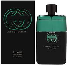 <b>Gucci Guilty Black</b> Eau de Toilette Spray for Him 90 ml: Amazon.co ...