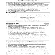Dealership Finance Manager Resume Example