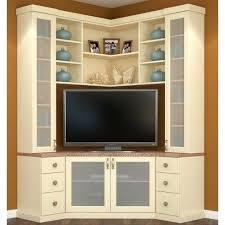 wooden corner tv unit cabinet for television c great flat stand hutch tall design impressive