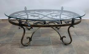 wrought iron glass coffee table 640x388 from the thousand pictures in relation to wrought iron