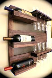 perfect wine rack wood wall mounted wine rack image wooden diy wood of diy wall wine
