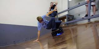 Real Working Hoverboard Tony Hawk Takes A Real Hoverboard For A Ride