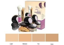 Thin Lizzy Concealer Colour Chart Buy Thin Lizzy 7 Piece Starter Kit Medium At Mighty Ape Nz