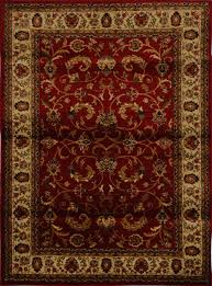 home dynamix area rugs royalty rug 3208 215 red ivory traditional rugs area rugs by style free at powererusa com