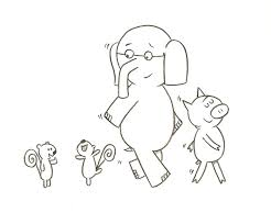 Small Picture elephant and piggie coloring pages Google Search Elephant and