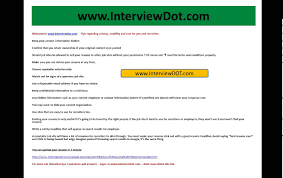 resumes posting tips how to post your resume in a job site online youtube