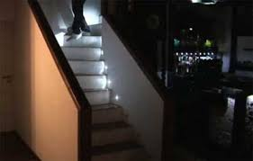 automatic led stair lighting. led stairs automatic stair lighting