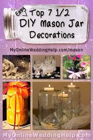 Decorations Using Mason Jars Wedding Centerpieces Ideas Using Mason Jars Image collections 52
