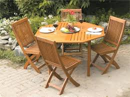 folding wooden garden table and chairs outdoor designs mixplayer