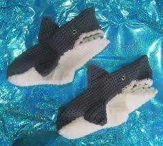 Crochet Shark Slippers Pattern Free Beauteous Shark Crochet Pattern All The Best Ideas The WHOot