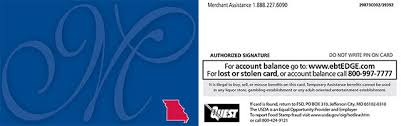 Snap benefits are placed in an electronic account that only the recipient can use. Ebt Cardholder Information Mydss Mo Gov