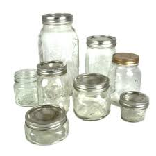 types of mason jars