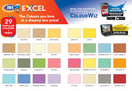 Bh Paint Color Chart