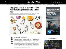 Fast Company S Co Design Fast Company Clean Beauty Is All The Rage Skylar Press