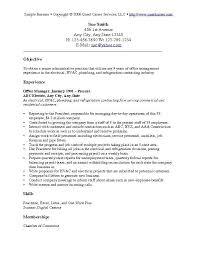 objective in resume
