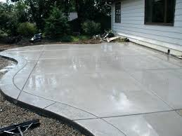 Concrete Patio Cost Stones At Stamped Concrete Patio Stamped