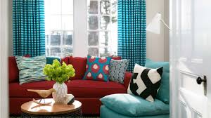 Turquoise Living Room Bright Turquoise And Red Interior Design Ideas Youtube