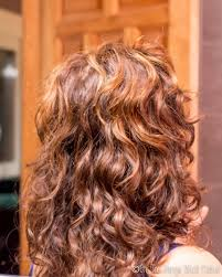 my hair after using my homemade hair conditioner