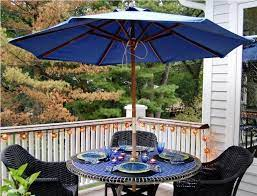 umbrella luxury small patio table