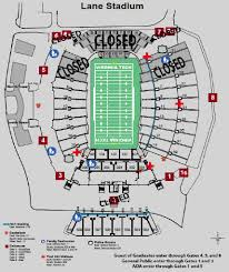 Lane Stadium Seating Chart Student Section Lane Stadium Information Virginia Tech