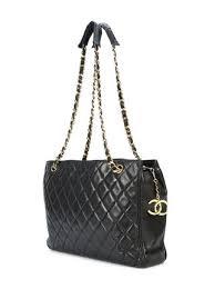 Chanel Vintage Quilted Shoulder Bag - Farfetch & ... Chanel Vintage quilted shoulder bag Adamdwight.com