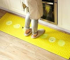 rubber backed bathroom rugs donuts yellow lemon 2 pieces set rubber backing non slip kitchen rug rubber backed bathroom rugs
