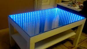 Moderner Couchtisch mit 3D LED- Beleuchtung   Einrichtungsideen ...