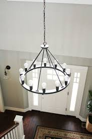 building a dream house our farmhouse light fixtures amelie distressed chandelier perfect lighting