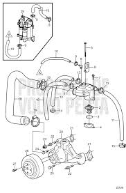 volvo penta 4 3 gxi engine diagram wiring diagram for you • circulation pump and thermostat 5 0gxi f 5 0osi f 7744830 rh volvopentastore com volvo d13 engine service manual volvo penta water pump diagram